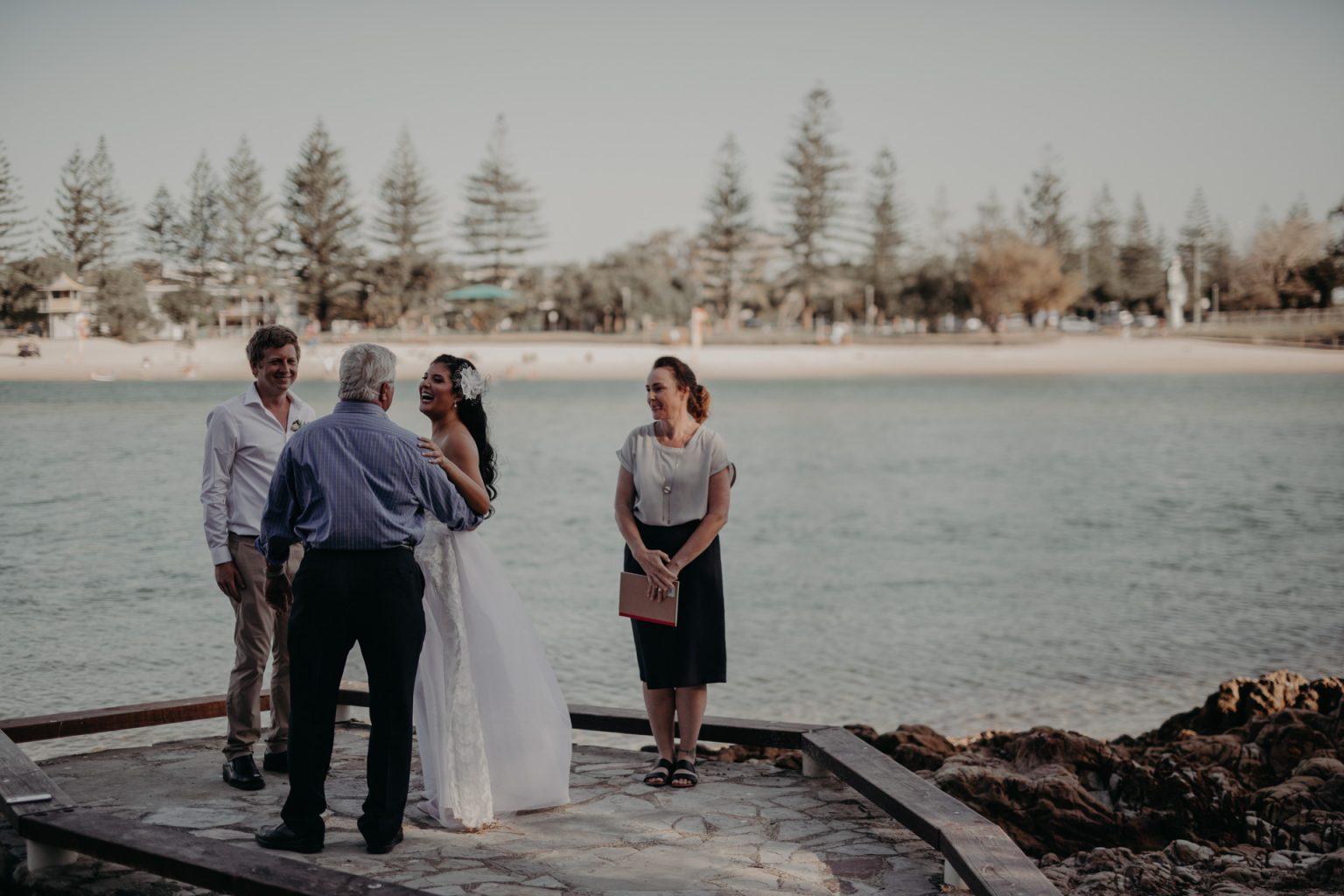 intimate elopement echo beach burleigh