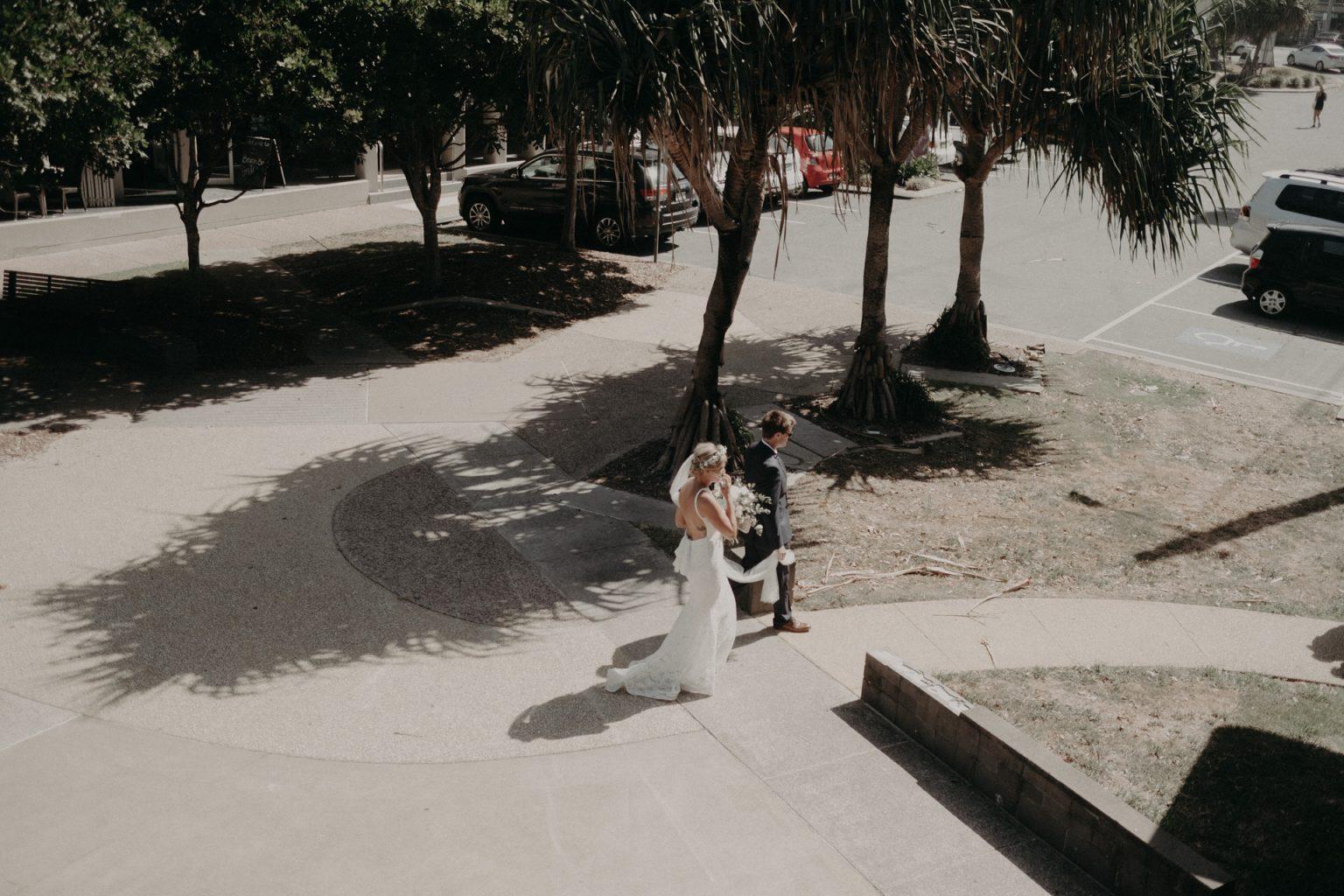 bride groom cabaret beach