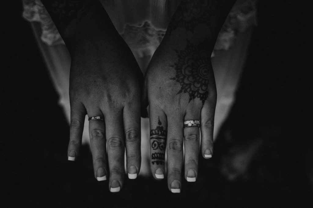 wedding rings tattoos