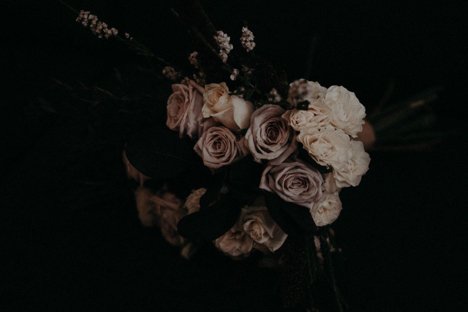 bridal bouquet brisbane elopement