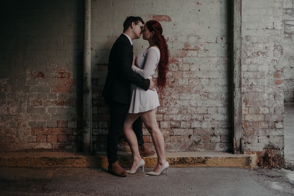 bride groom brisbane elopement hidden
