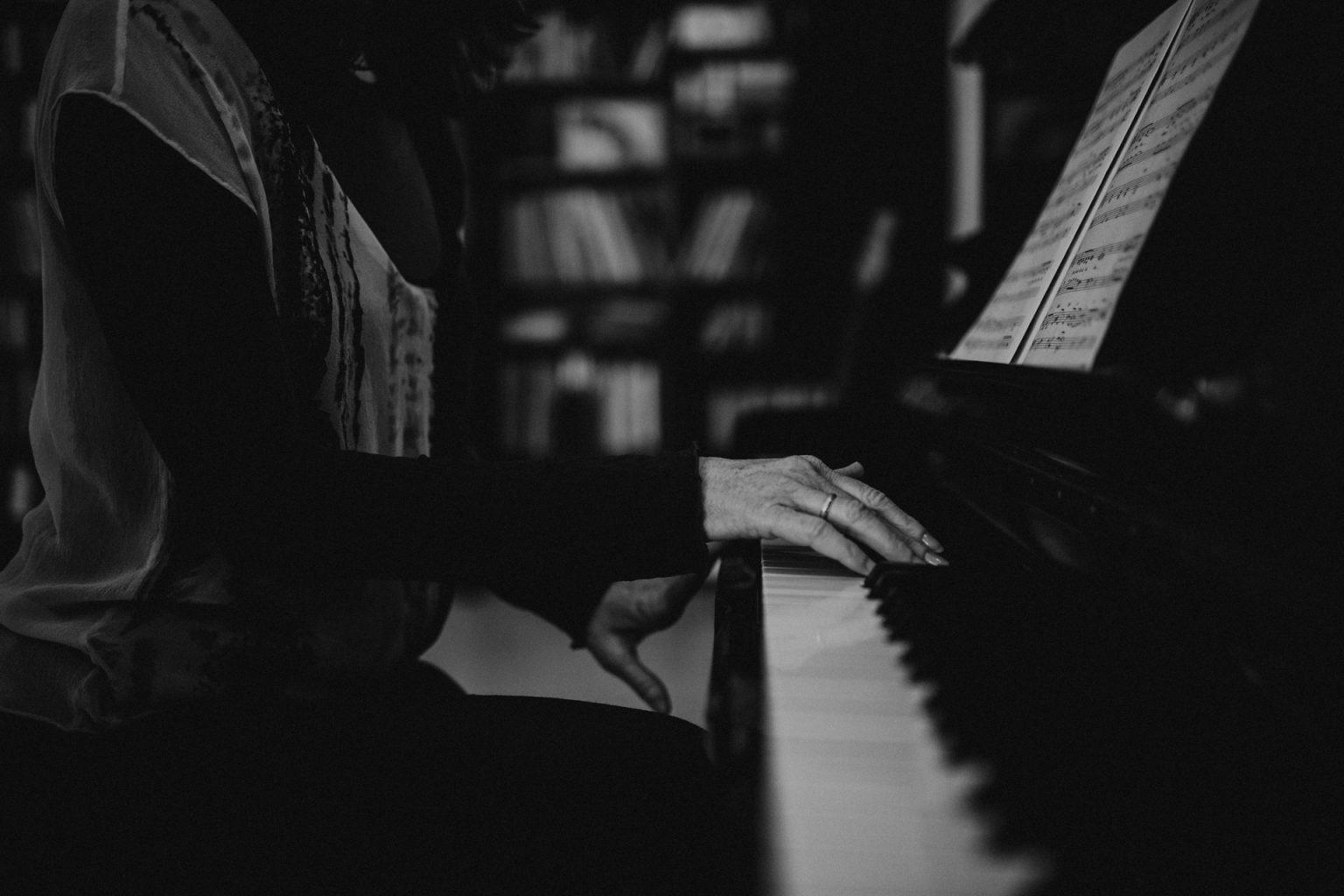 piano in brisbane music studio sheet music